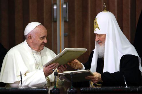 لقاء البابا